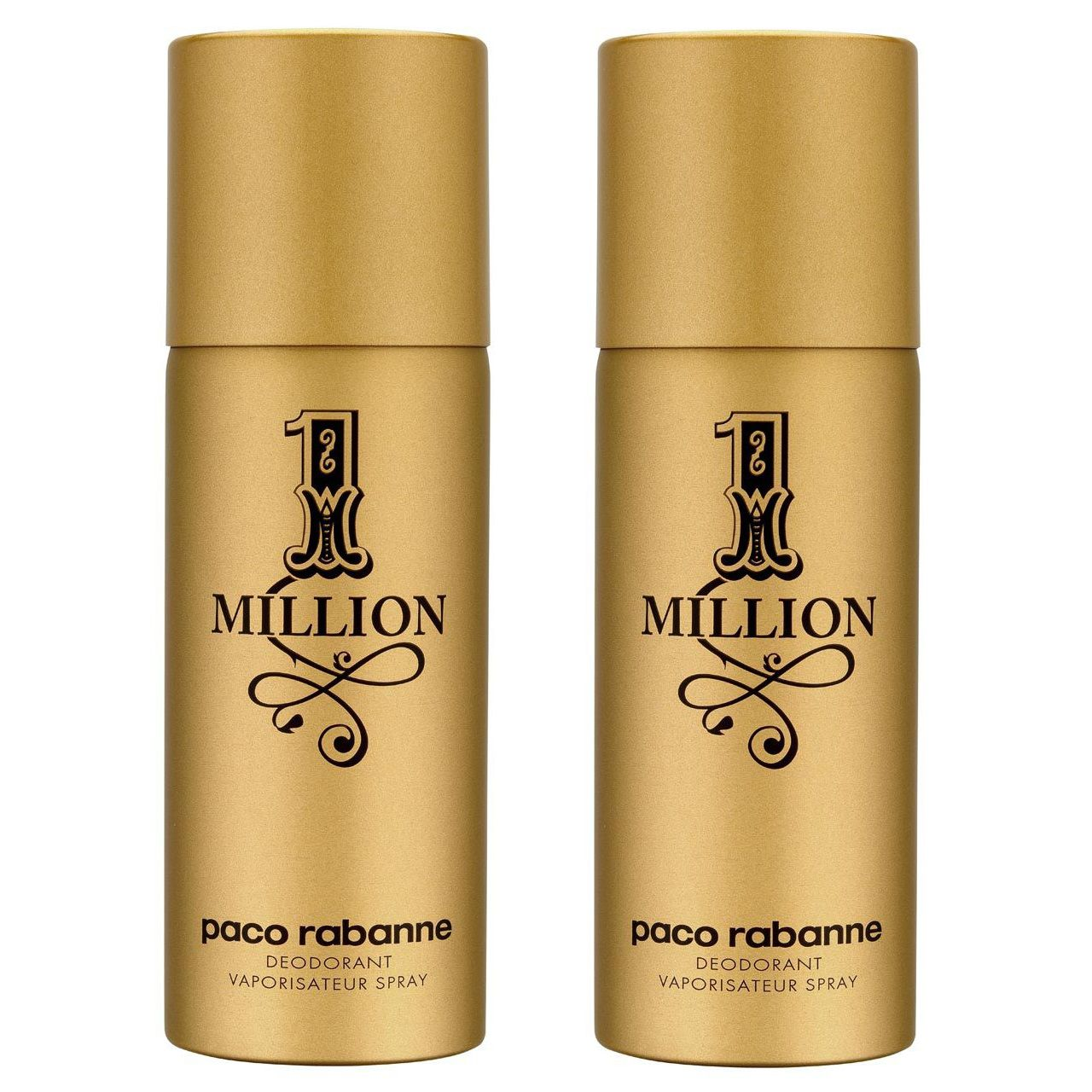 Paco Rabanne - 2x 1 Million Deodorant Spray 150 ml