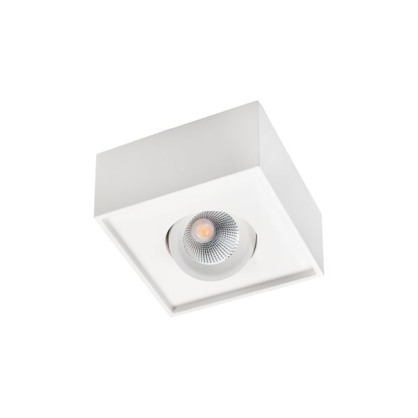 SG Armaturen Cube Lux Downlight-valaisin 7 W, 540 lm valkoinen