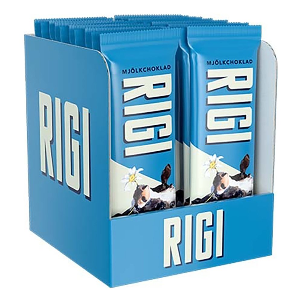 Rigi Mjölkchoklad Chokladbit - 20-pack