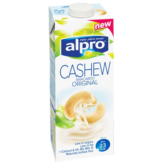 Cashew-Pähkinäjuoma 1l - 40% alennus