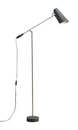 Birdy golvlampa – Grey/metallic
