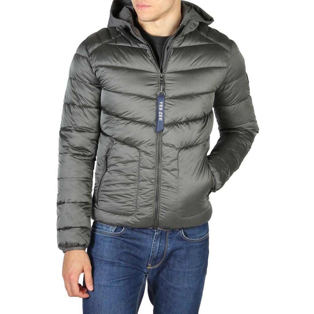 Yes Zee Men's Jacket Grey J839_M900 - grey L