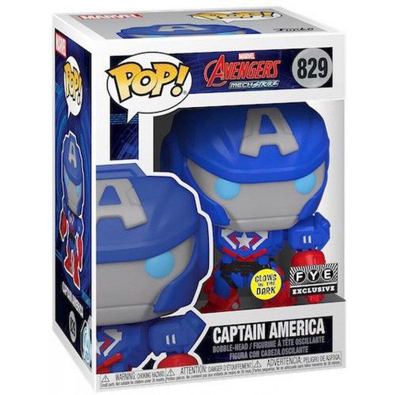 Funko! POP - Exclusive Marvel Mech Captain America (55633)