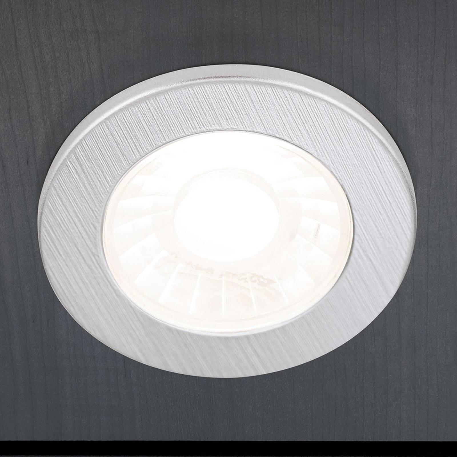 LED-kalusteuppovalaisin Artist, 3 kpl, hopea