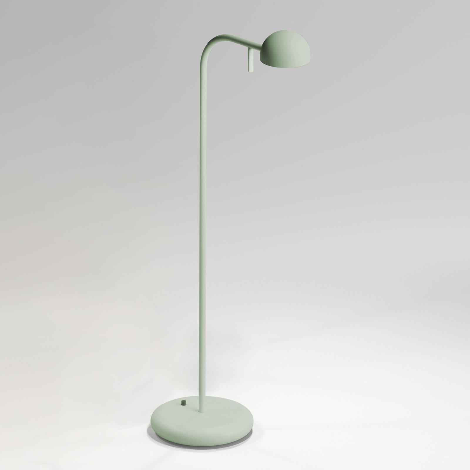 Vibia pin 1650 LED-bordlampe, lengde 23 cm, grønn