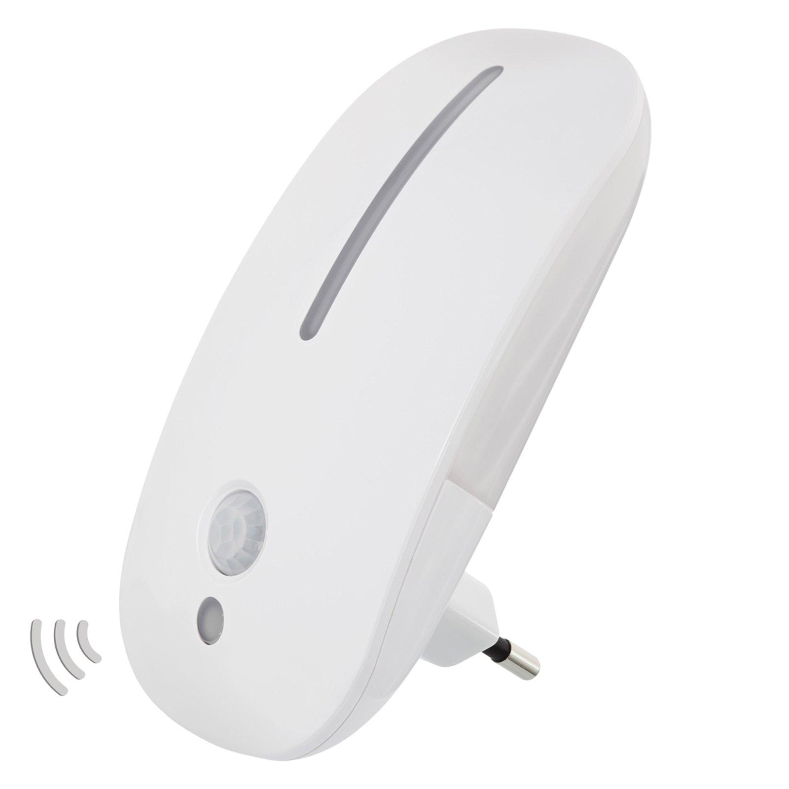 LED-sensor-nattlys Agena for stikkontakt
