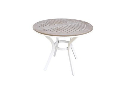Alpha Spisebord Ø120 cm - Hvit