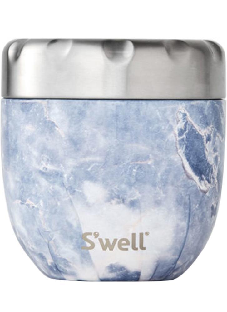 S'well Eats Nesting Food Bowl Blue Granite 473ml