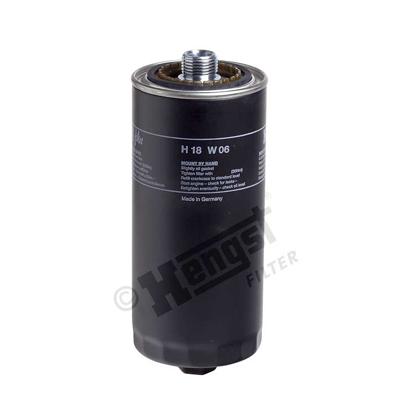 Öljynsuodatin HENGST FILTER H18W06