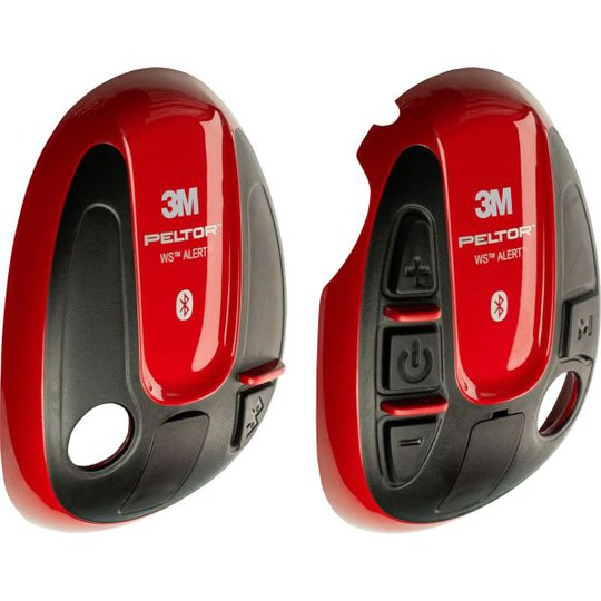 3M Peltor 7100246986 Ulkokuori yhteensopivuus WS ALERT, punainen