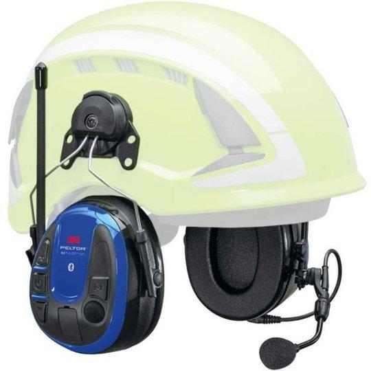 3M Peltor WS Alert XPI Kuulonsuojain Bluetooth, mobiilisovellus, kypäräkiinnitys
