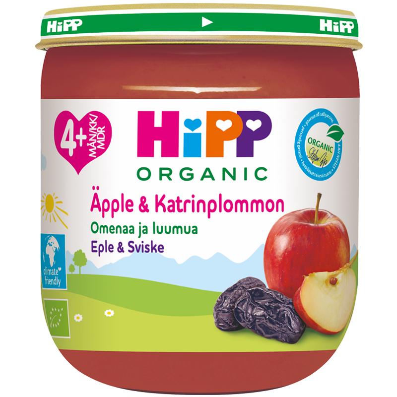 Barnmat Äpple & Plommon Eko - 23% rabatt
