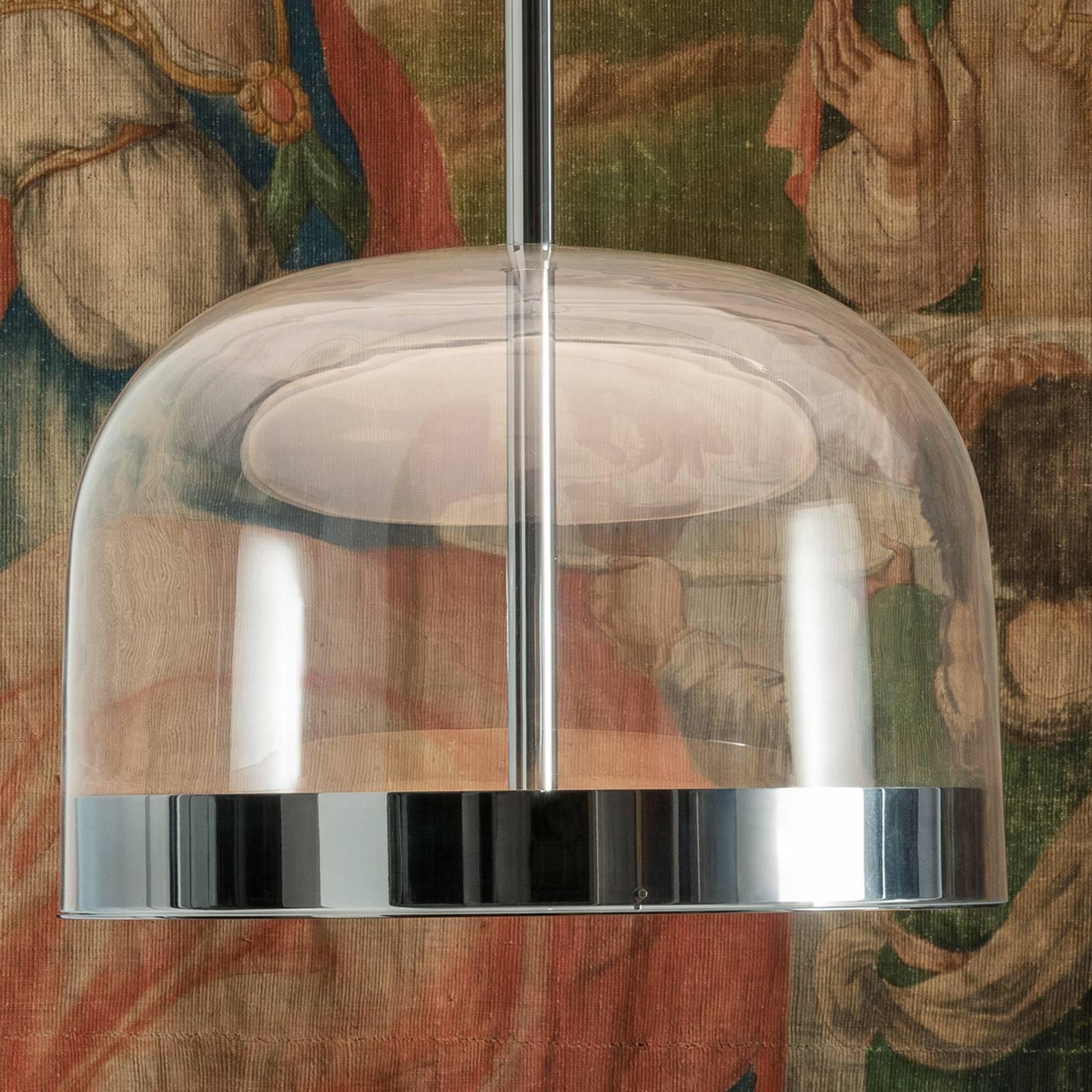 Fontana Arte Equatore -LED-riippuvalaisin 23,8 cm