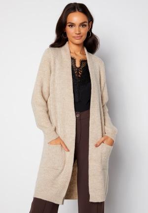 ONLY Jade L/S Cardigan Knit Whitecap Gray XS