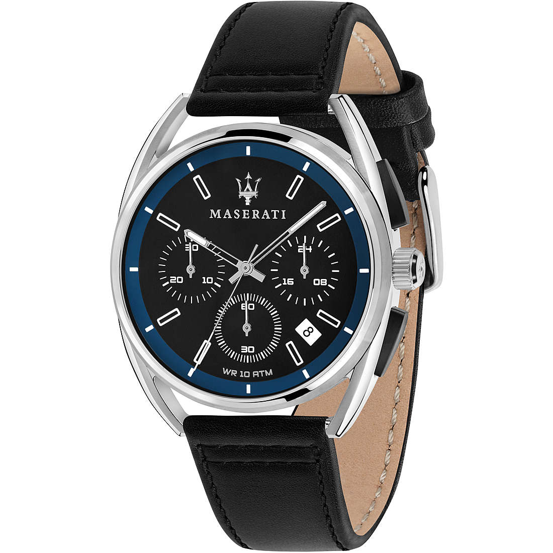 Maserati Men's Trimarano Watch Black R8871632001MK