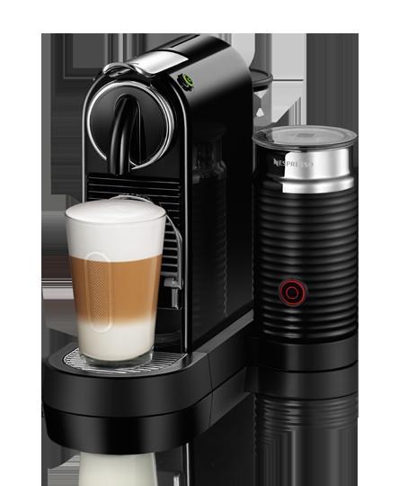 Nespresso Citiz & Milk Black Kapselmaskin - Svart