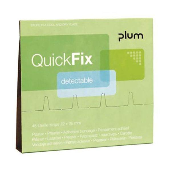 Plum QuickFix Detectable Laastarittäyttö 45 kpl