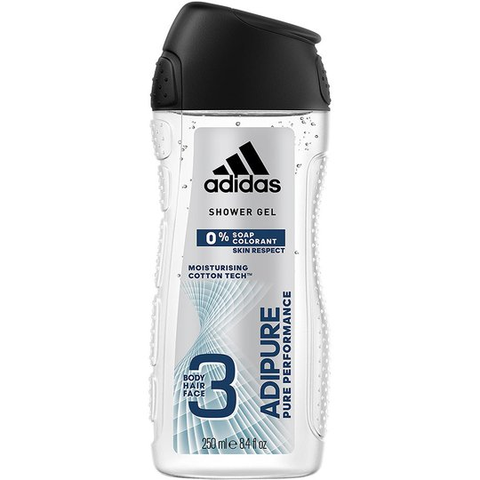 Adipure, 250 ml Adidas Kylpy & Suihku
