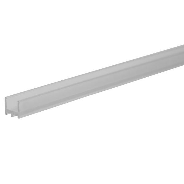 Hide-a-Lite 7503635 Profiili 2 m, läpinäkyvää muovia