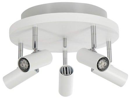 Cato LED 5-spot Matthvit m/Raking light