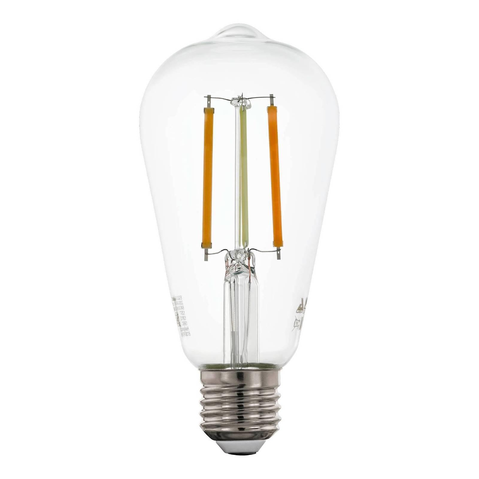 EGLO connect E27 6W Rustika filament Tunable White