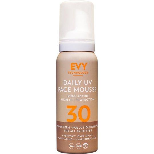 EVY Daily Face Mousse SPF30, 75 ml EVY Technology Aurinkosuojat