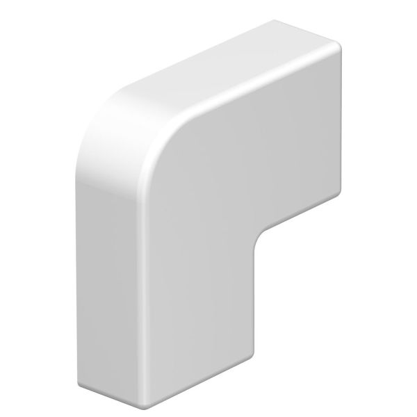 Obo Bettermann 6175648 L-vinkel halogenfri, polarhvit 20 x 10 mm, 4-pakning