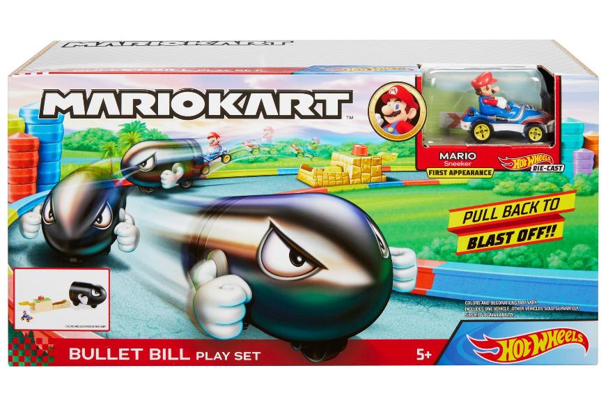 Hot Wheels - Mario Kart Bullet Bill Playset (GKY54)