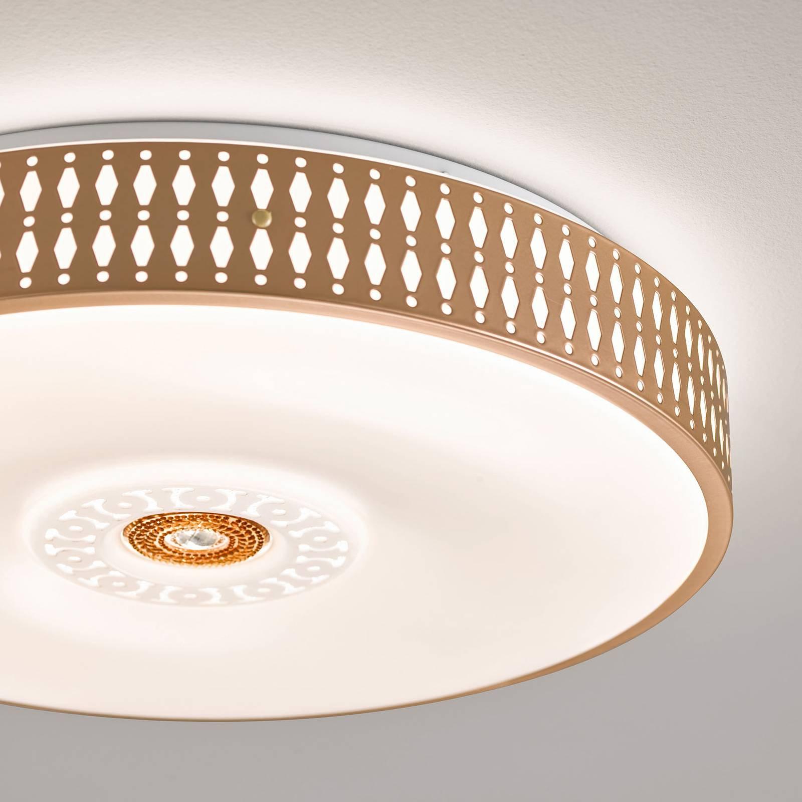 LED-taklampe Coso, dimbar, Ø 40 cm
