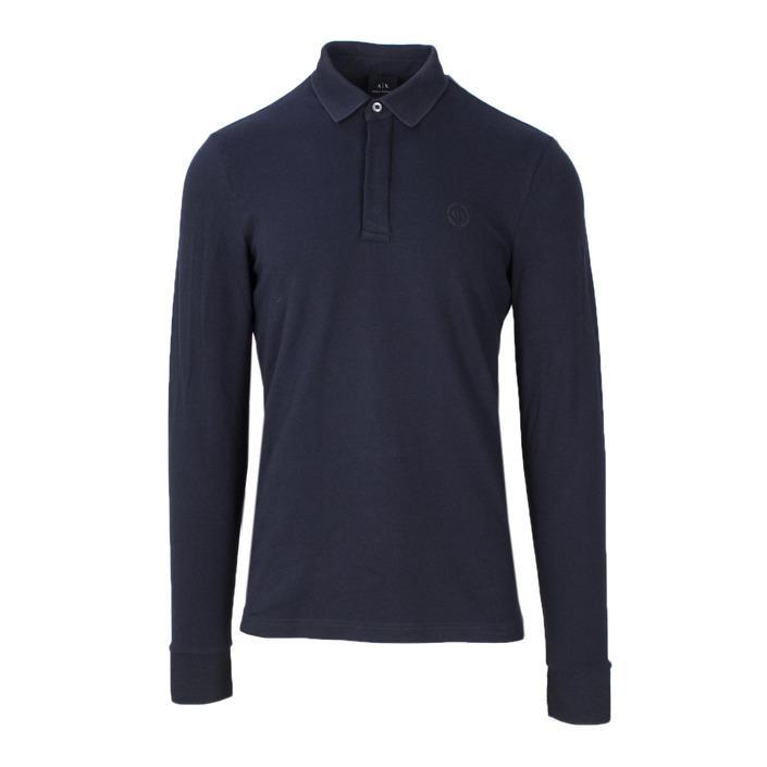 Armani Exchange Men's Polo Shirt Blue 165200 - blue S