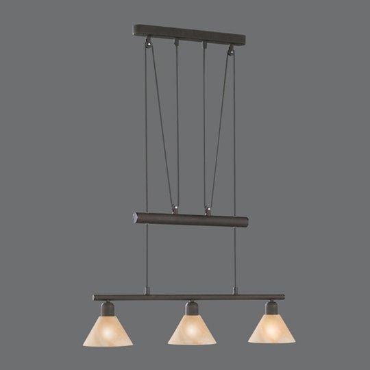 Säädettävä riippuvalaisin Zug, 3-lamppuinen