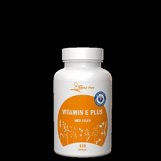 Vitamin E Plus, 120 kapslar
