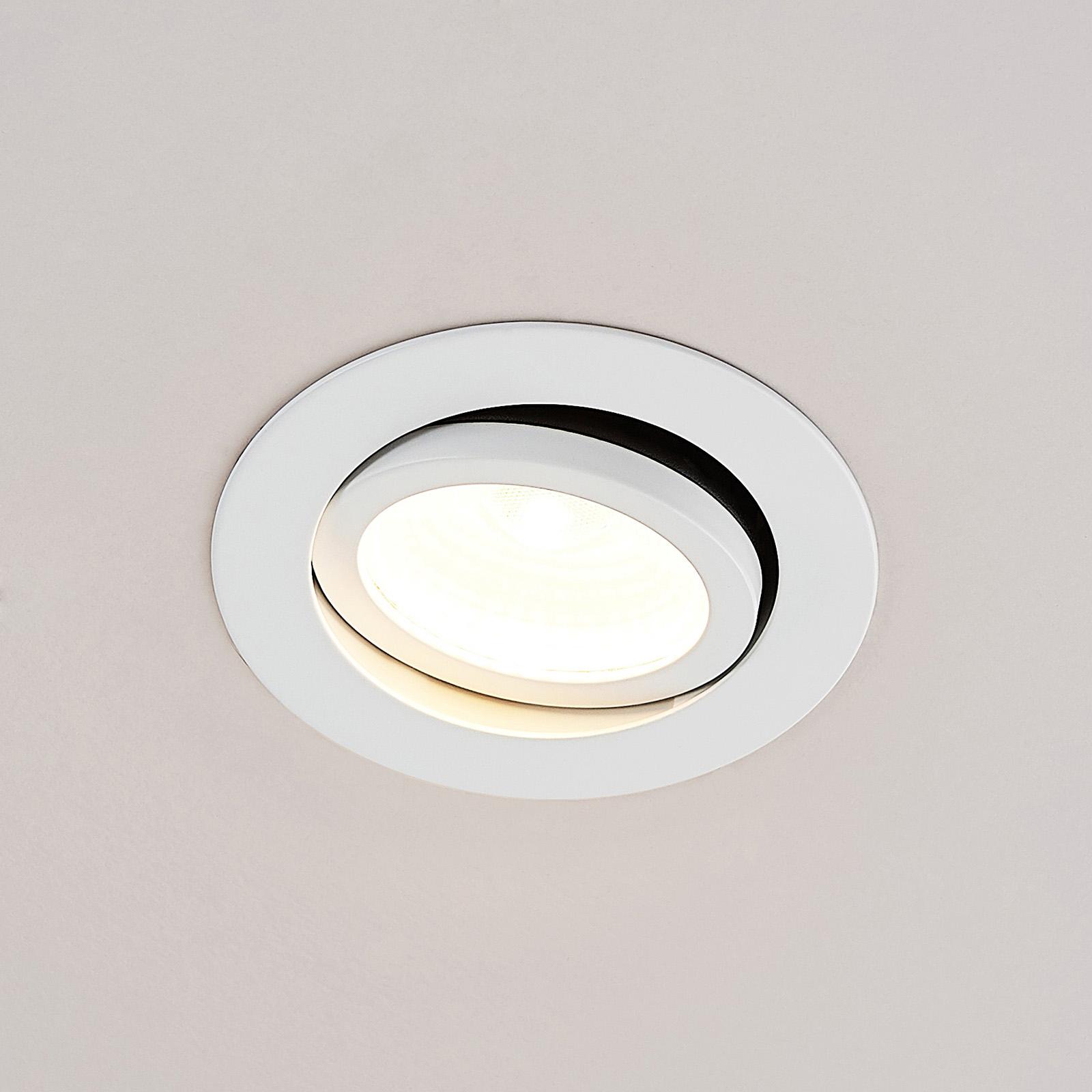 Arcchio Nabor -LED-alasvalo 36° 2 700K IP65, 10,6W