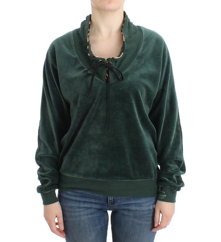 Cavalli Women's Sweater Green SIG11974 - IT48|XXL