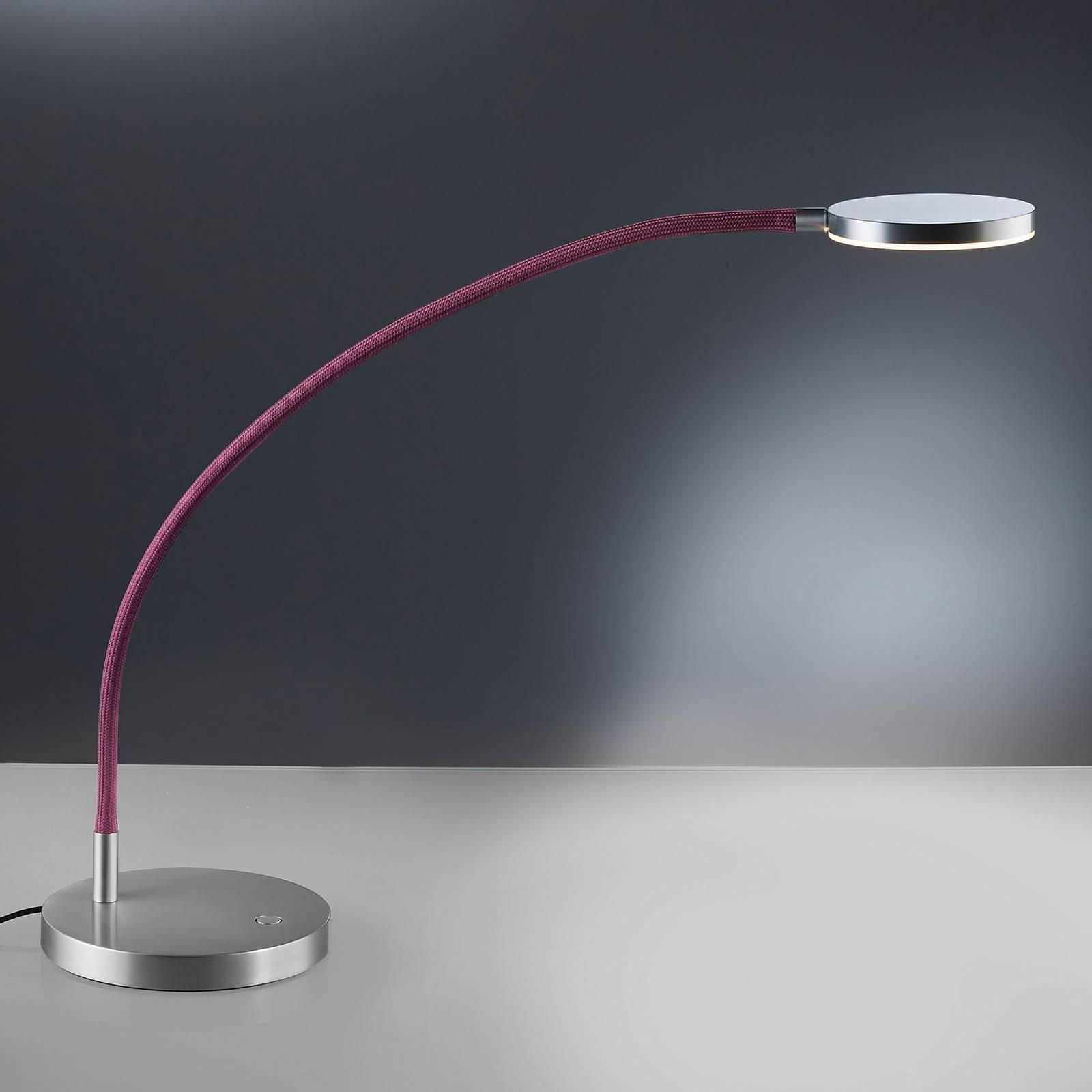 Holtkötter Flex T -LED-pöytälamppu, punainen