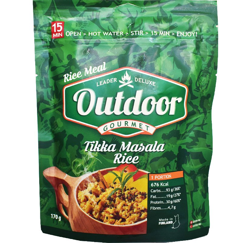Outdoor Tikka Masala - 29% rabatt