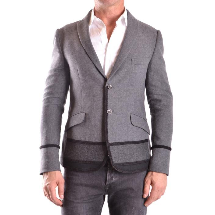 Daniele Alessandrini Men's Blazer Grey 188880 - grey 48