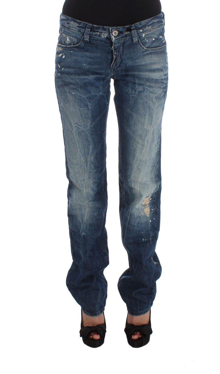Costume National Women's Cotton Regular Fit Denim Jeans Blue SIG32583 - W26