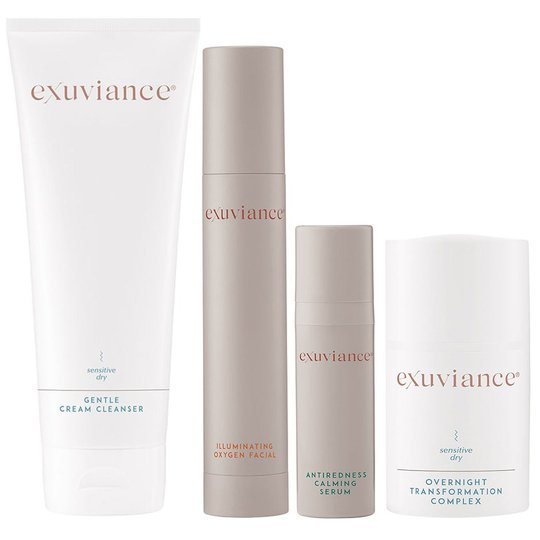 Gentle Regimen For Sensitive Skin, Exuviance Ihonhoitopakkaukset