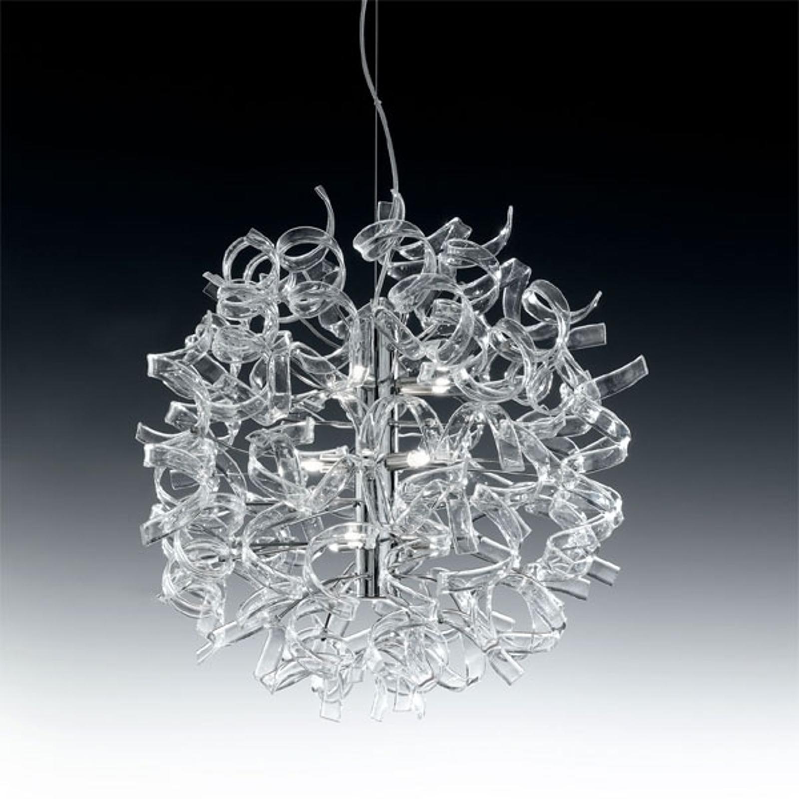 Moderni riippuvalaisin ASTRO, 9-lamppuinen, kirkas