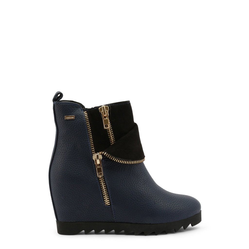 Roccobarocco Women's Ankle Boot Blue ROSC0VY01 - blue EU 39