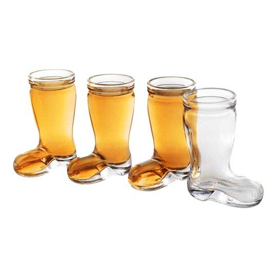 Final Touch Ölstövel Shotglas - 4-pack