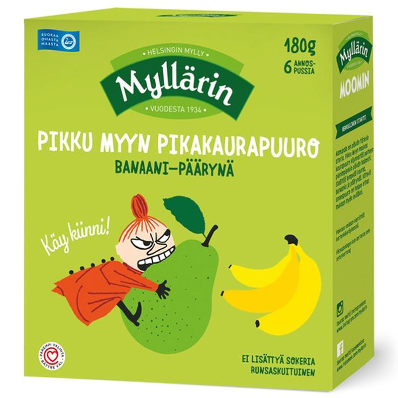 Pikakaurapuuro Banaani-Päärynä - 20% alennus