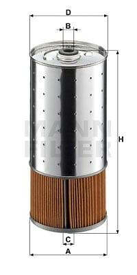 Öljynsuodatin MANN-FILTER PF 1055/1 x