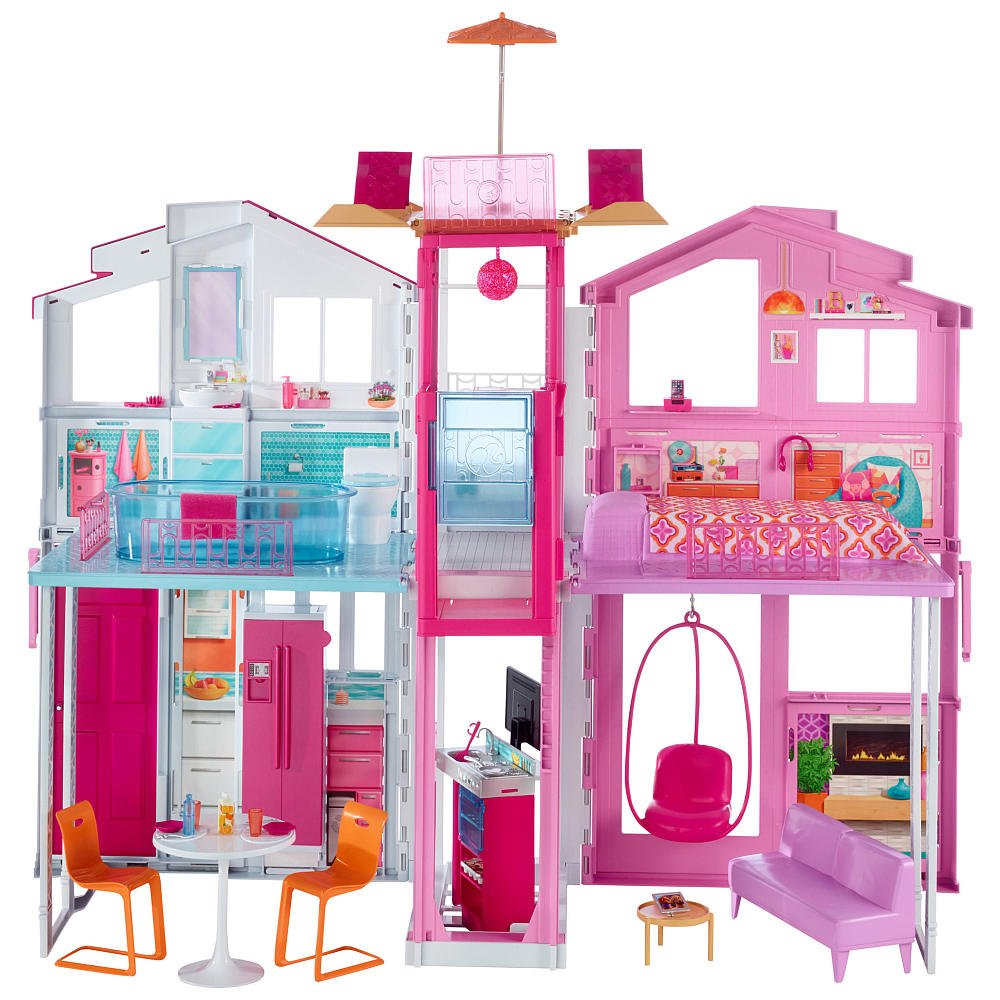 Barbie - Malibu Town House (DLY32)