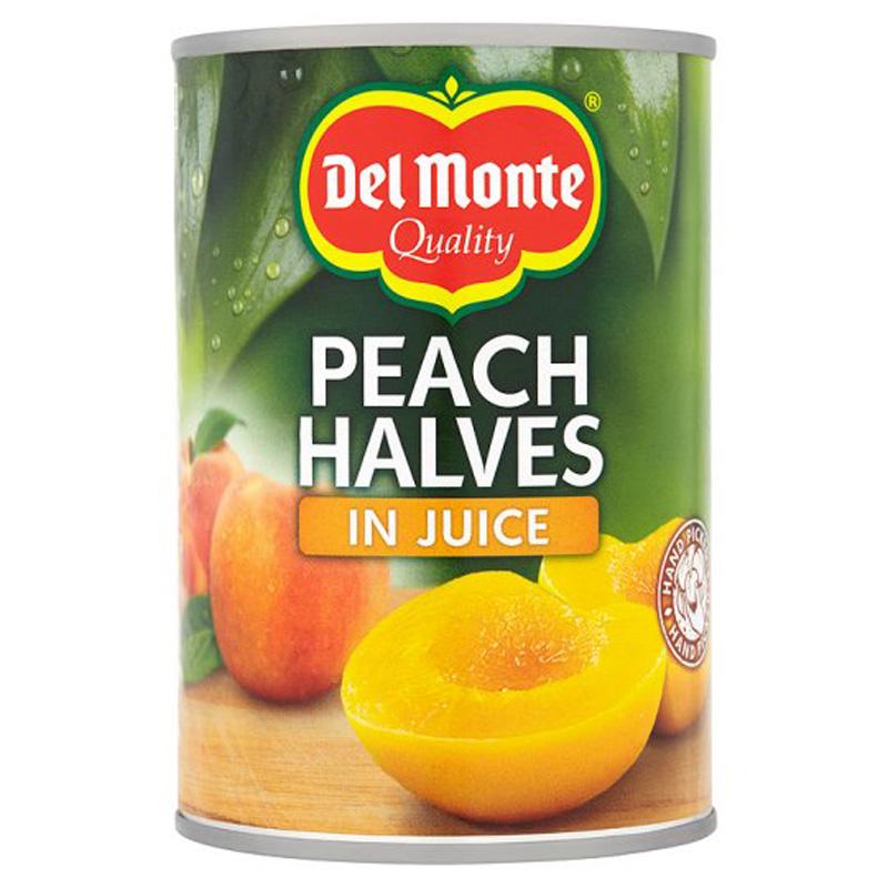 Persikohalvor I Juice 415g - 61% rabatt