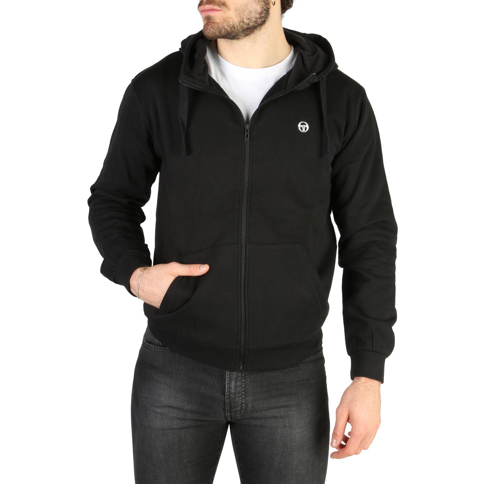 Sergio Tacchini Men's Sweatshirt Various Colours 103-10001 - black S
