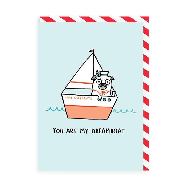 My Dream Boat Greeting Card