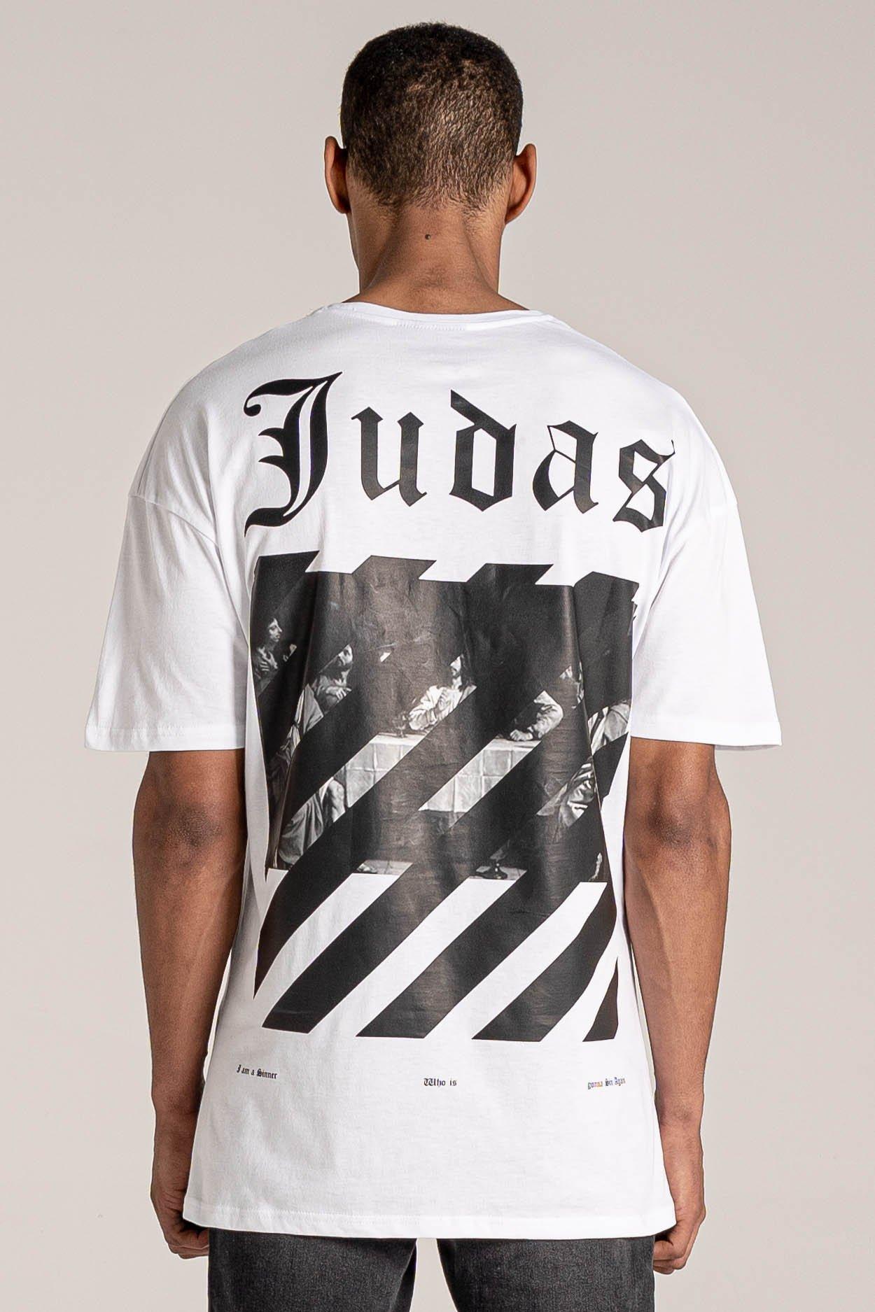 Last Printed Men's T-Shirt - White, Medium