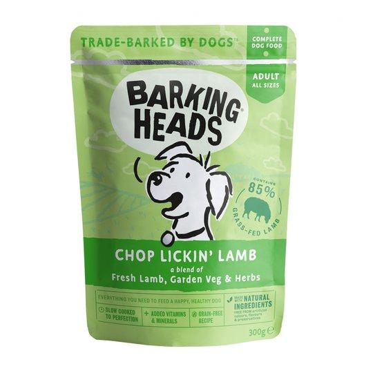 Barking Heads Chop Lickin Lamb 300 g
